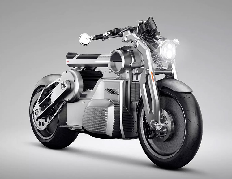 Curtiss Motorcycles Rolls Out Zeus, Their First Electric Bike at werd.com