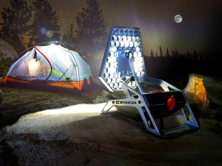 Light Up the Night With the 1200-Lumen Rover Task Light at werd.com