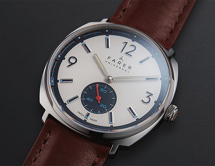 Farer's Stanhope is a Clean, Swiss-Made Mechanical at werd.com