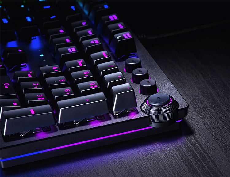 Razer Introduces Their First Opto-Mechanical Keyboards at werd.com
