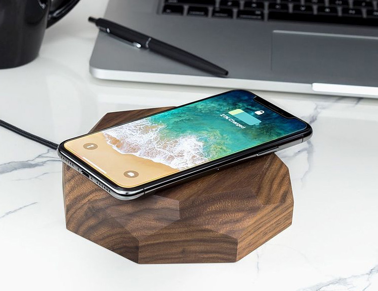 This Wireless Charger is Made of Wood, Looks Good at werd.com