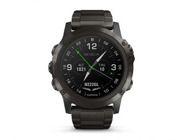 Garmin's D2 Delta PX Aviator has a Built-in Oxygen Sensor