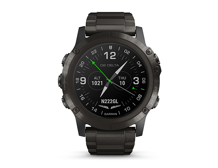 Garmin's D2 Delta PX Aviator has a Built-in Oxygen Sensor at werd.com