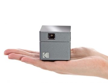 Kodak's Wireless WiFi Portable Projector Brings Big Screen Viewing in a Palm Size Package