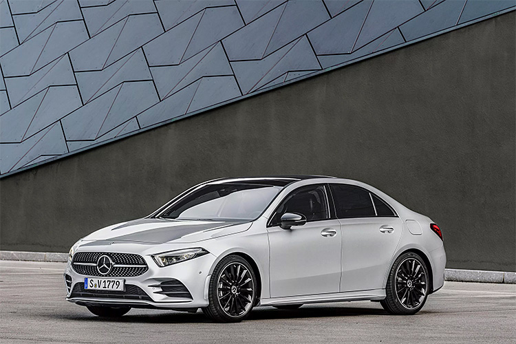 Mercedes To Offer 2019 A-Class Sedan in the U.S.A. at werd.com