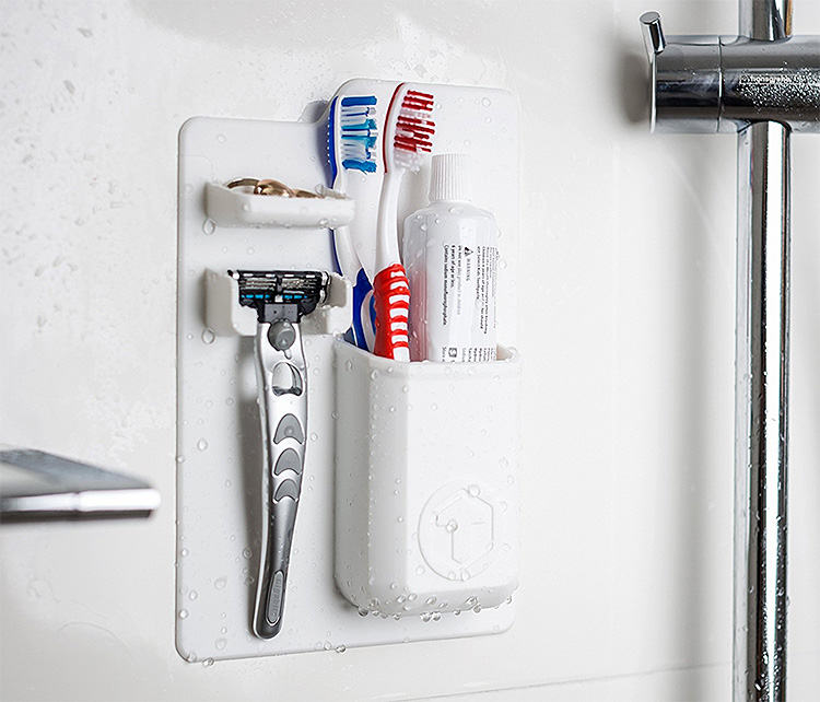Organize Your Bathroom With Something Mighty at werd.com
