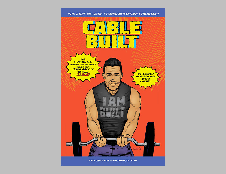 Get Superhero Ripped with the CableBuilt 12 Week Transformation at werd.com