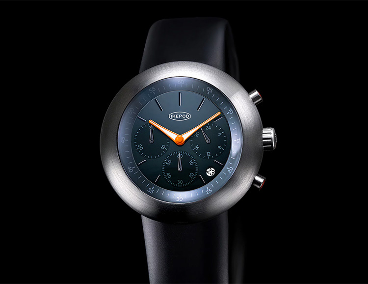 Ikepod Relaunches with 2 Slick New Watches at werd.com
