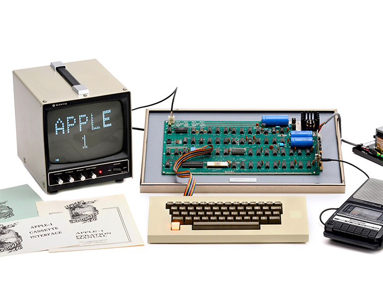 Ultra-Rare & Original Apple-1 Computer Heads To Auction at werd.com