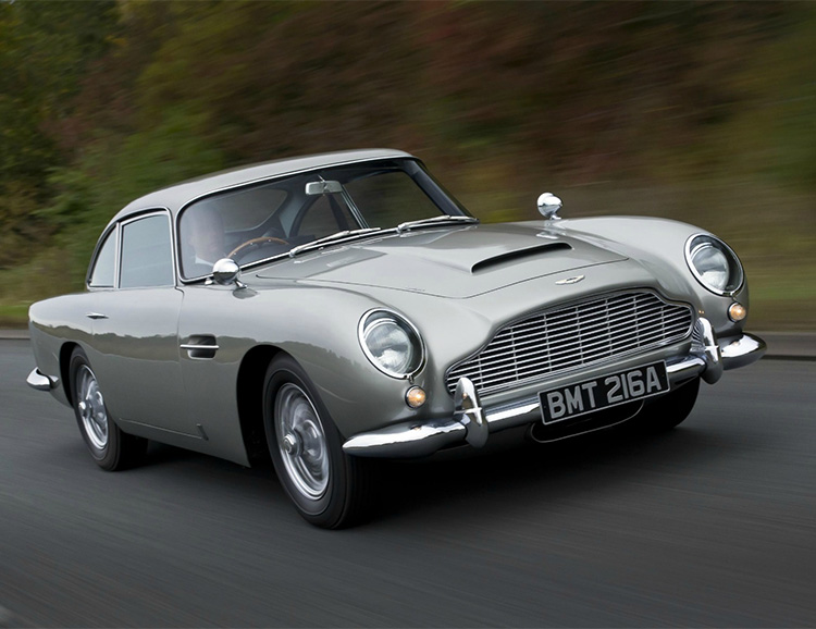 Aston Martin is Recreating 007's DB5 from Goldfinger at werd.com