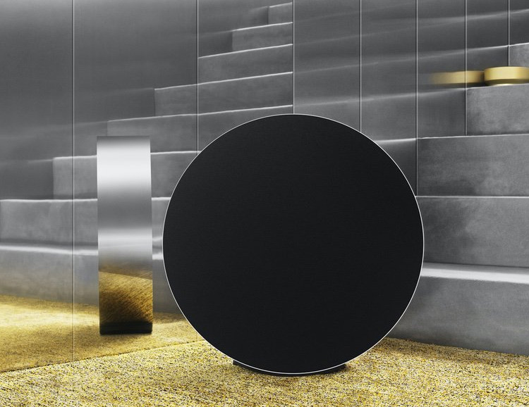 Bang & Olufsen Introduce Giant, Gesture-Controlled Beosound Edge Home Speaker at werd.com