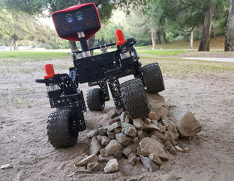 Build Yourself A Mars Rover At Home at werd.com
