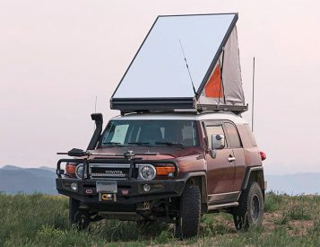 This is the Thinnest Rooftop Tent on the Market