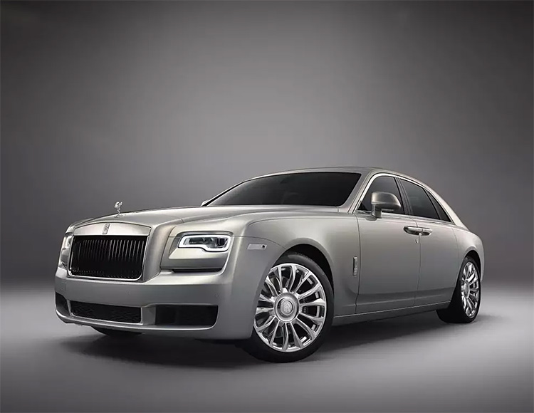 Rolls-Royce Rolls Out The Silver Ghost Collection at werd.com
