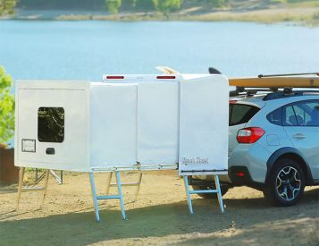 Hitch Hotel is a Compact Camper You Don't Have To Tow