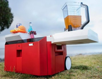 The Infinite Cooler is the Ultimate Off-Grid Party Machine