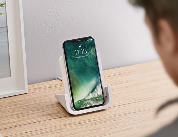 This Wireless iPhone Charger from Logitech Really Stands Out