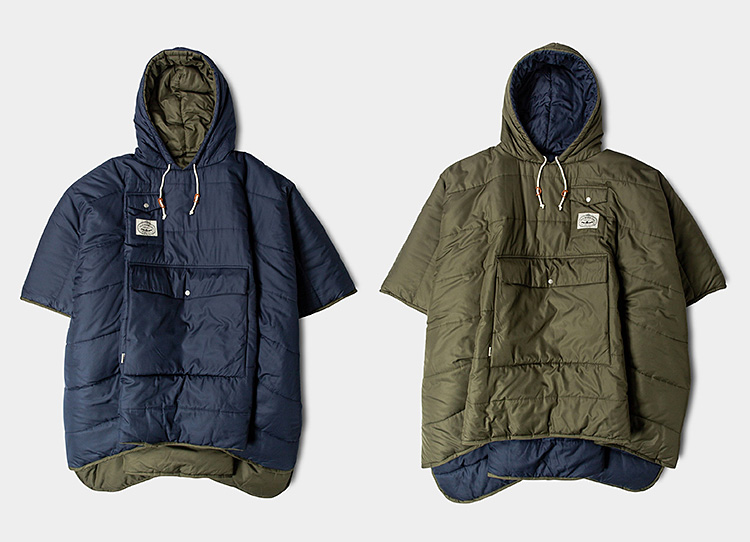 Poler's Reversible Camp Poncho is the Ultimate Chillwear at werd.com