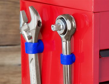 StickQuik Magnetic Grommets Keep Tools Handy
