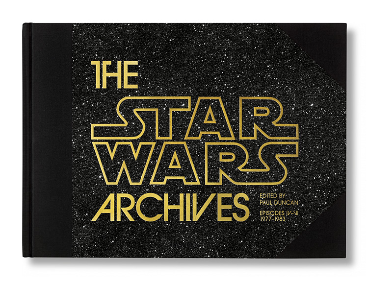 Taschen To Release Definitive <i>Star Wars Archives</i> Volume 1 at werd.com