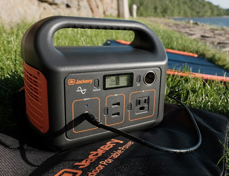 The Jackery Explorer 240 is a Compact Off-Grid Power Supply at werd.com