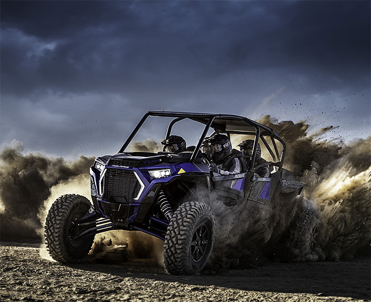 Polaris Rolls Out Insane 4-Seat RZR XP4 Turbo S at werd.com