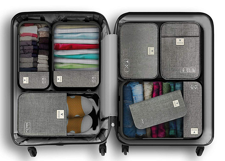 Vasco Travel Cubes Easily Organize Your Luggage at werd.com