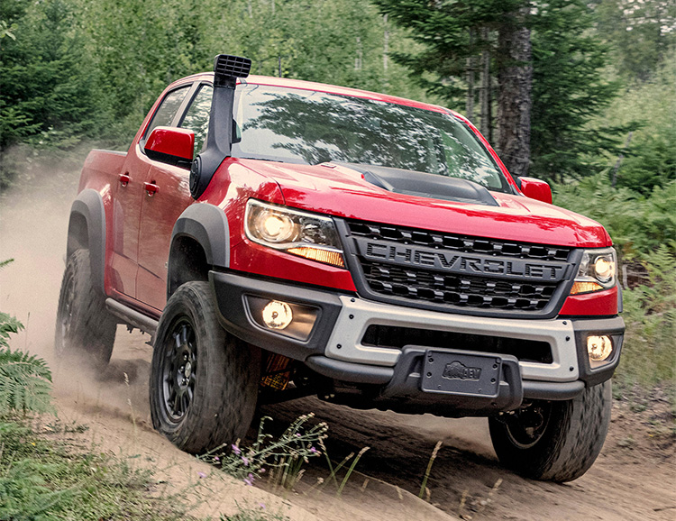 Chevy Teams Up with AEV for Gnarly 2019 Colorado ZR2 Bison at werd.com