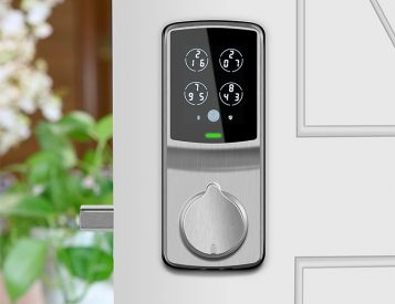 Lockly's Secure Smart Lock Uses Fingerprint Touch ID