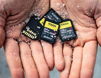 Sony Introduces Thrash-Proof Tough SD Cards