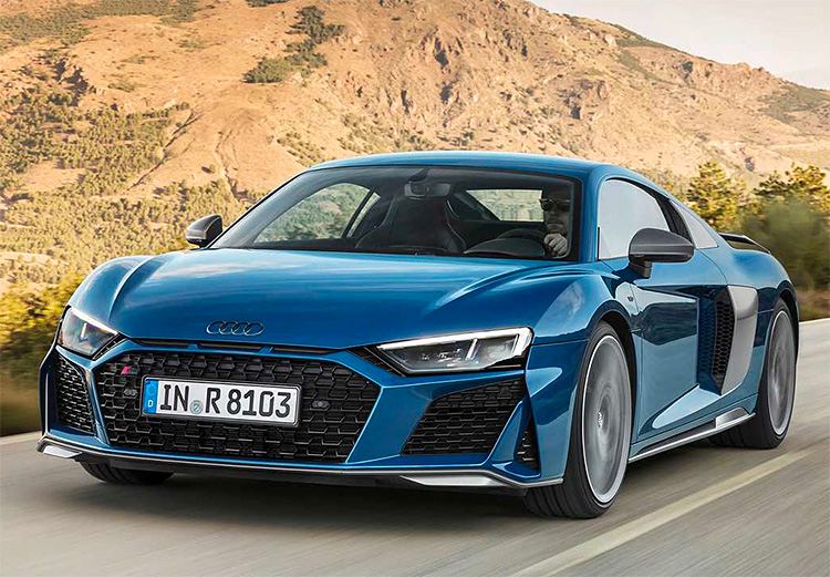 For 2019, the Audi R8 is Even Sicker at werd.com