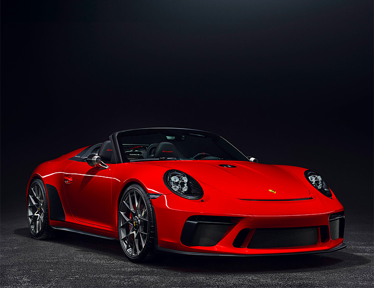 Porsche Unveils Ultra-Limited 2019 911 Speedster at werd.com