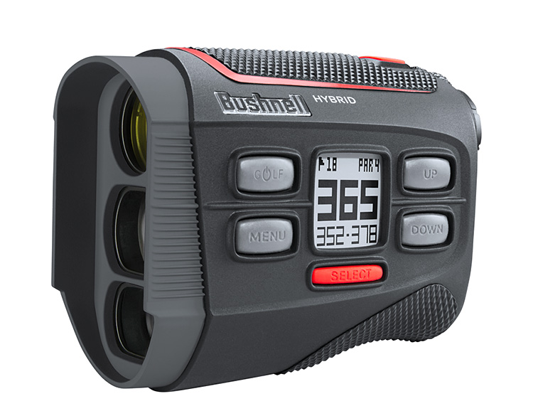 Bushnell Hybrid Golf Rangefinder Delivers Both Laser & GPS Yardages at werd.com