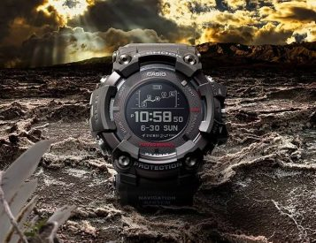 Casio's GPR-B1000 is a Super-Size Adventure-Survival Smartwatch
