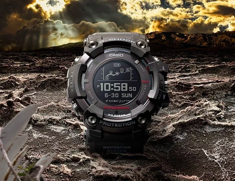 Casio's GPR-B1000 is a Super-Size Adventure-Survival Smartwatch at werd.com