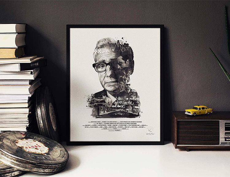 Iconic Directors Featured in Fine Art Prints for Fans of Film at werd.com
