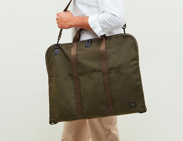 Arrive Wrinkle-Free with the Porter Suit Bag at werd.com