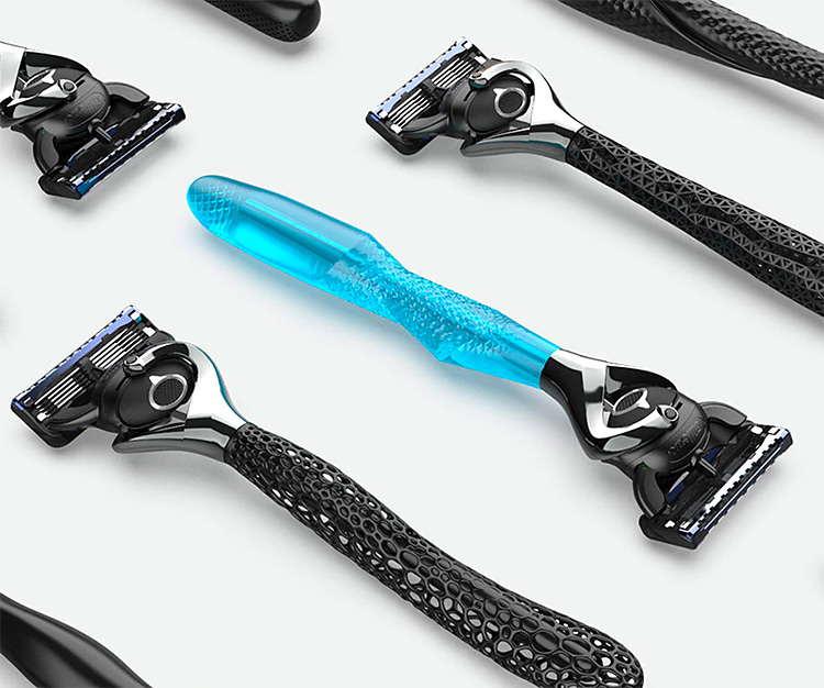 Gillette Wants You To Design & Personalize Your Own Razor at werd.com