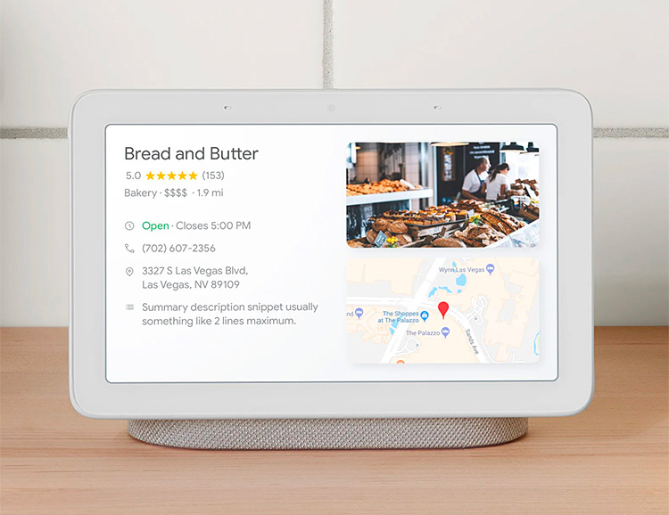 Google Introduces Home Hub Smart Speaker at werd.com