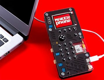 Build a Phone Of Your Own with MAKERphone