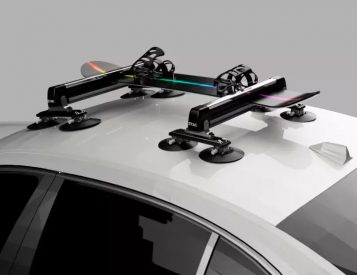 This Innovative Roof Rack Uses Suction To Secure Your Gear