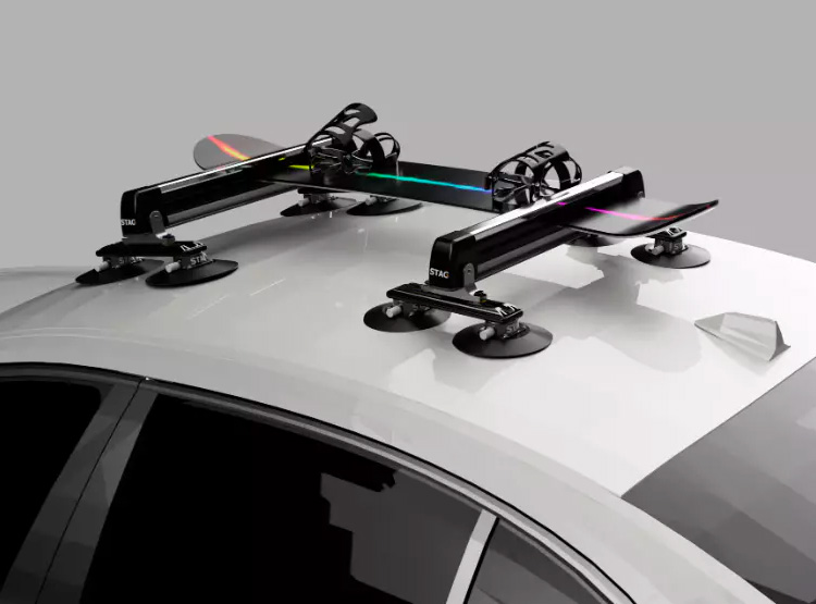 This Innovative Roof Rack Uses Suction To Secure Your Gear at werd.com