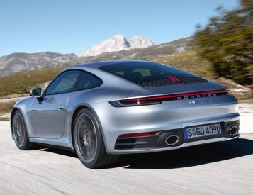 Porsche Debuts New 911 at LA Auto Show