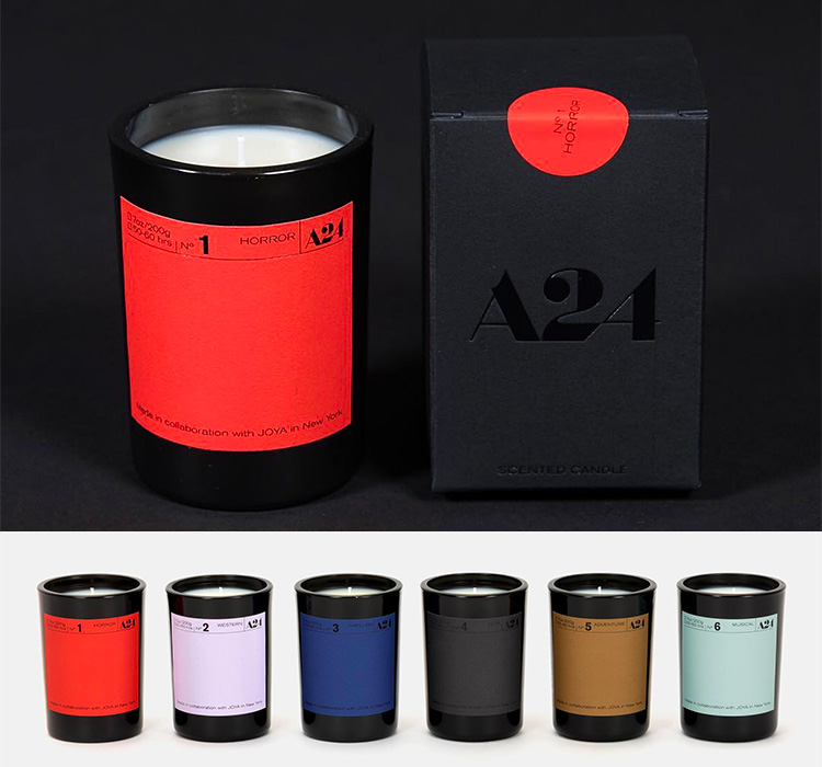 Get Yourself In the Mood for Movies with a Cinema-Inspired Candle at werd.com