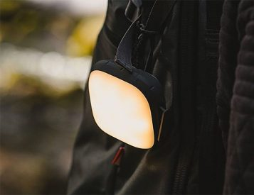 Bright Light & Fast Charge Power: The Cairn XL Lantern