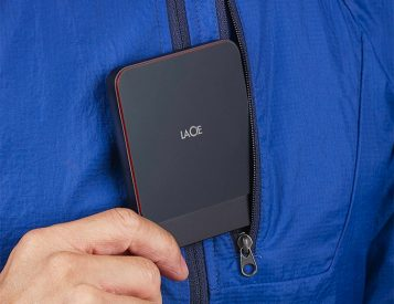 LaCie's Portable SSD: Pocketable & Fast