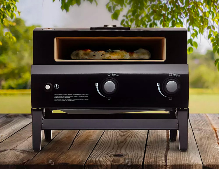 This Portable Pizza Oven Delivers Super High Heat for Perfect Pies at werd.com