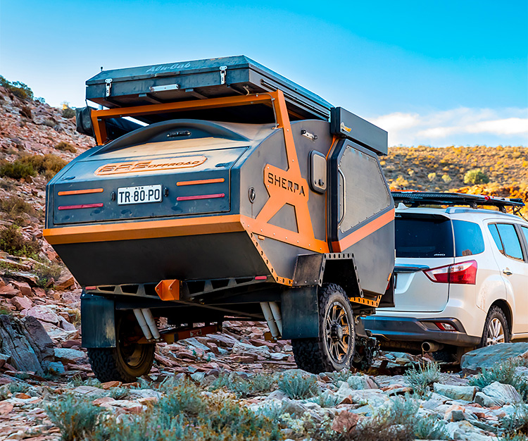 The Sherpa Camper Takes Luxury Living Off-Road at werd.com