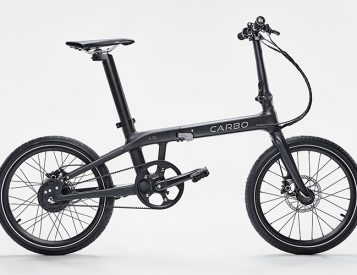 Compared To Other Folding E-Bikes, Carbo is a Featherweight