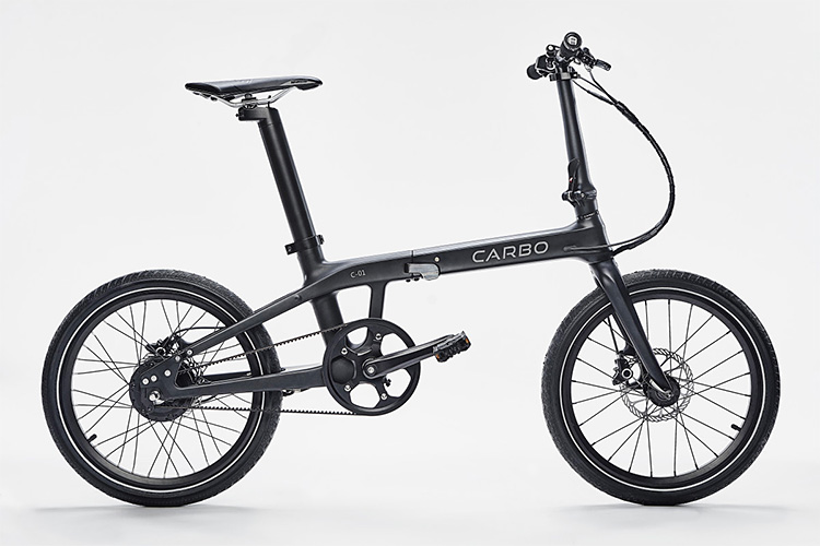 Compared To Other Folding E-Bikes, Carbo is a Featherweight at werd.com